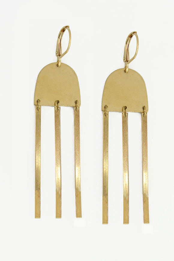 Arches Fringe Earring
