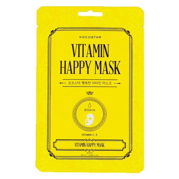 Vitamin Happy Mask - New