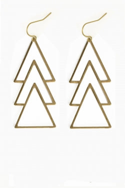 Deco Triangle Dangles