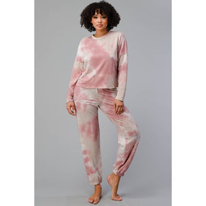 Tie-Dye Loungewear Set - New