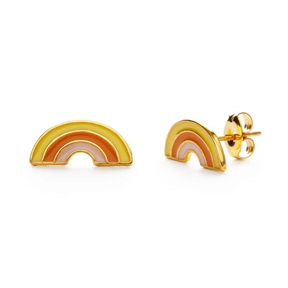 Retro Rainbow Studs - Best Seller