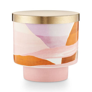 Coconut Milk Mango Ceramic Lidded Candle
