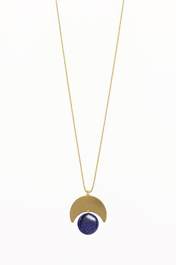 Lunar Pacman Necklace - New