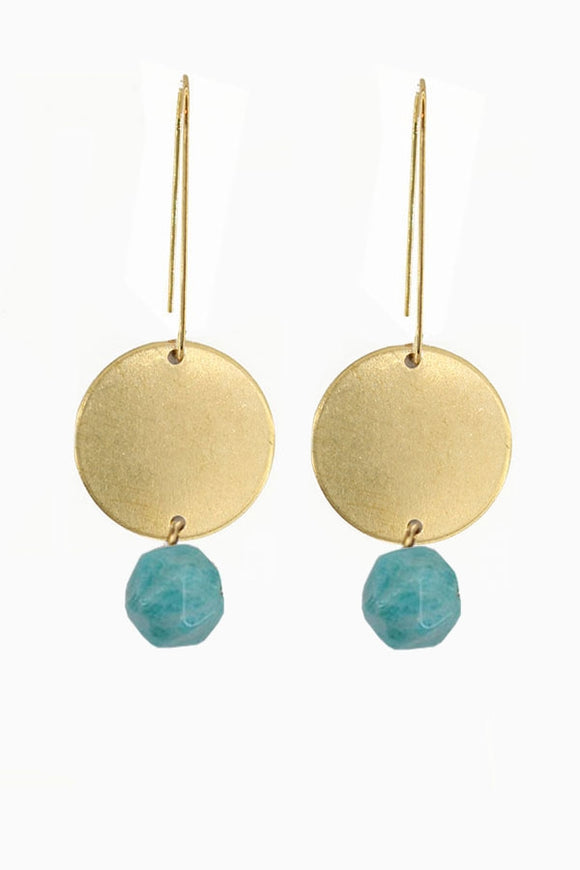 Moonshine Amazonite earrings