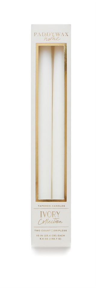Ivory Taper Candles