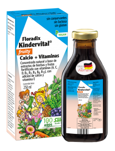 Kindervital Fruity 250 ml - Salus Flora