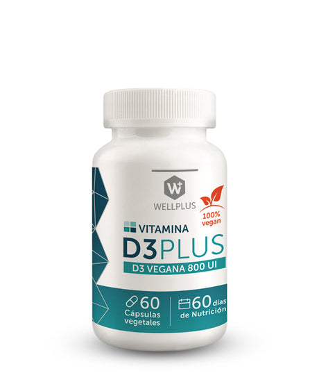 VEGAN D3 PLUS - WELLPLUS