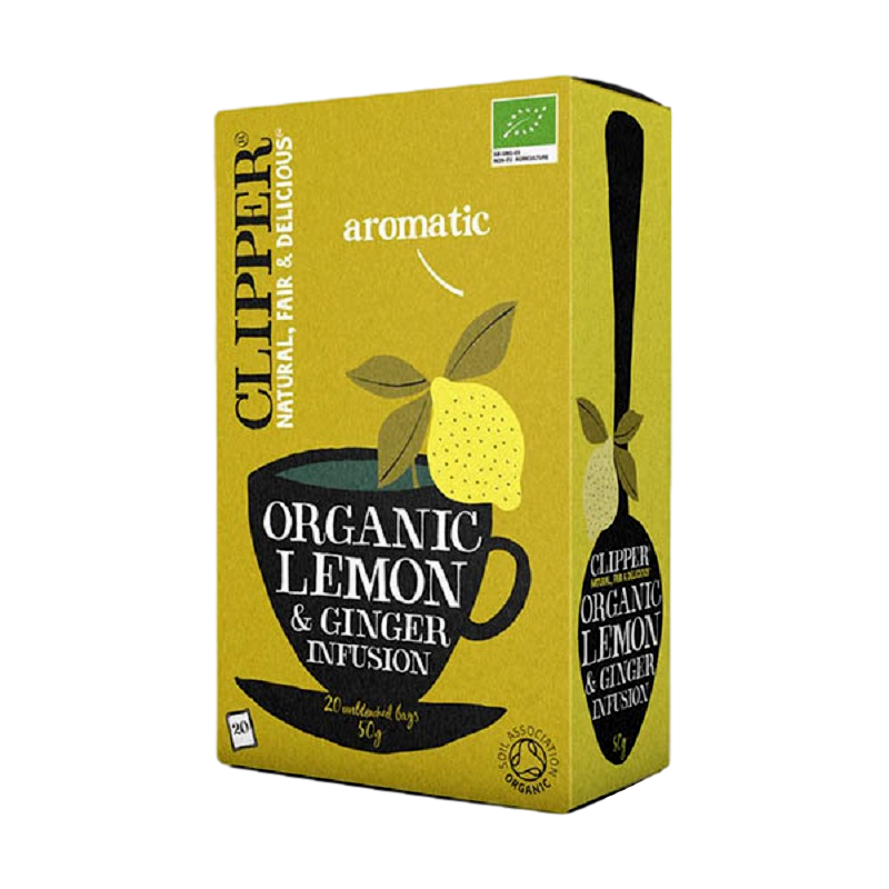 Infusion Lemon Ginger - Clipper