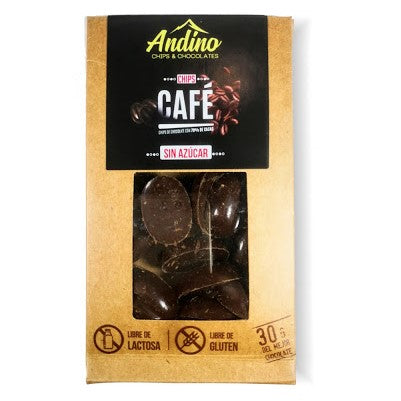 Chips Cafe con Chocolate 30g - Andino