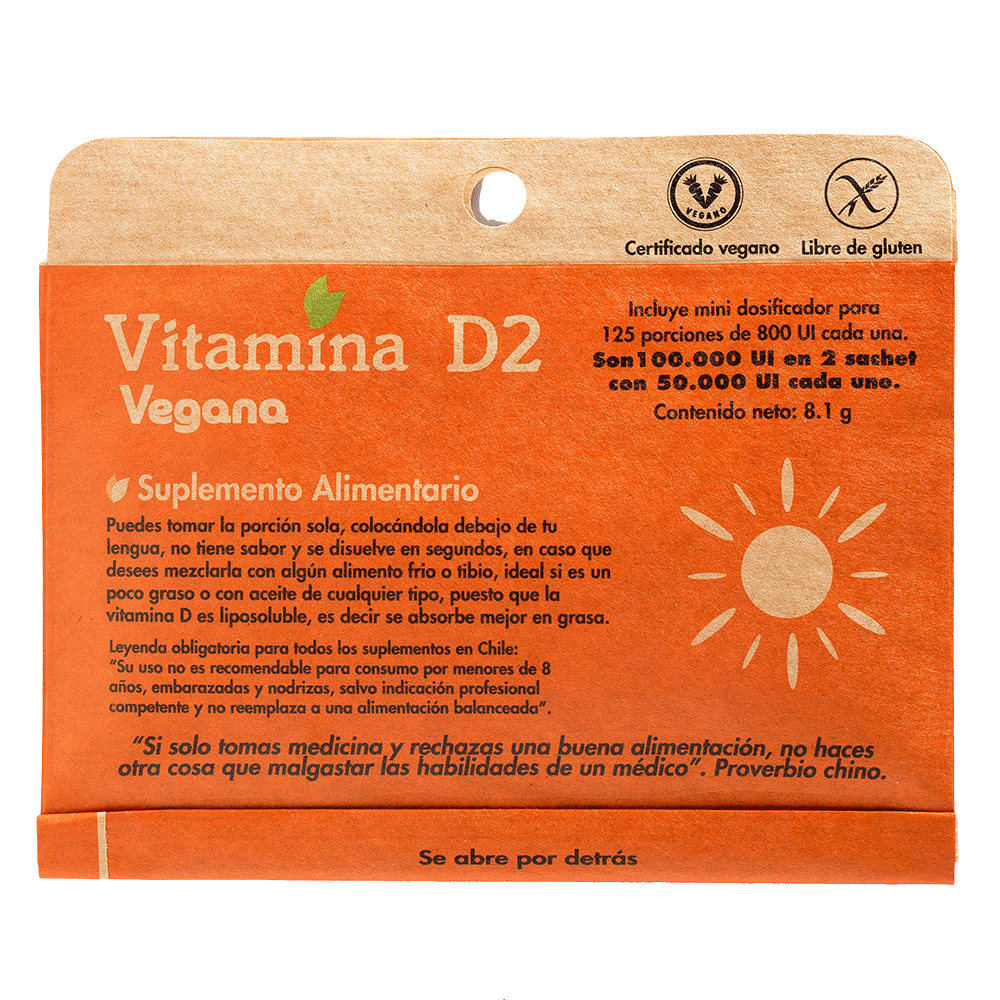 Vitamina D2 - Dulzura Natural