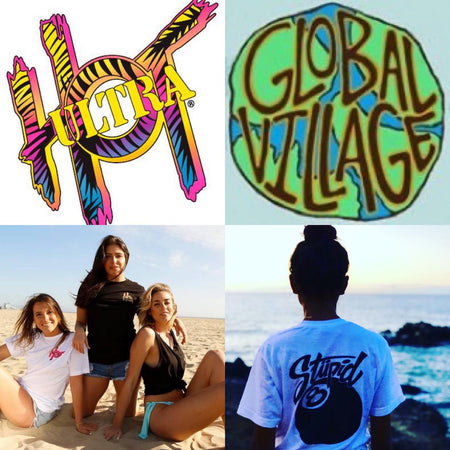 Ultra Hot Graphics, Inc. supports 3 original brands:  Ultra Hot, Global Village and Slam