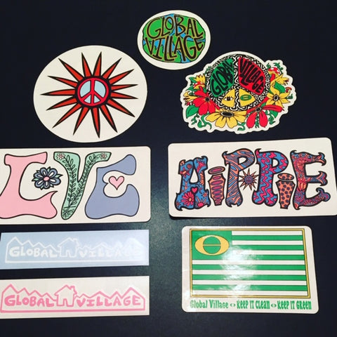 Global Village Sticker pack assorted