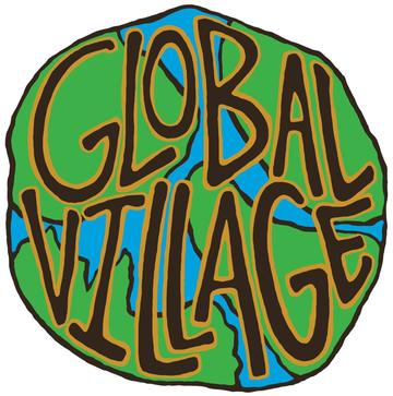 Global Village Globe Sticker