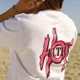 Ultra Hot Logo Short Sleeve Tee Pink / Black
