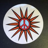 Global Village Sticker Peace Star