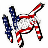 Ultra Hot Logo Decal Large - 10 inch