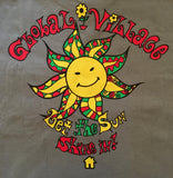 "Global Village Wear -  ""Let the Sun Shine In"" - 100% Cotton Pocket Tee"