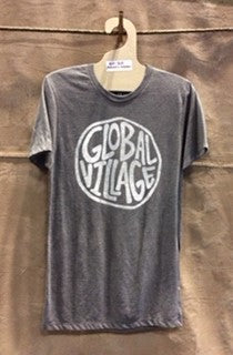 Global Village Wear Solo Logo Triblend Tee