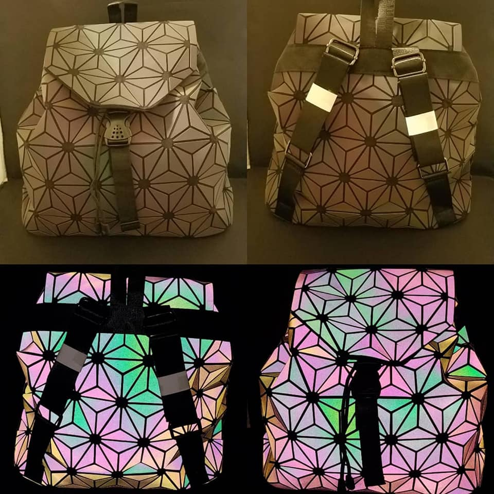 Geometric Star Pattern Flash bag
