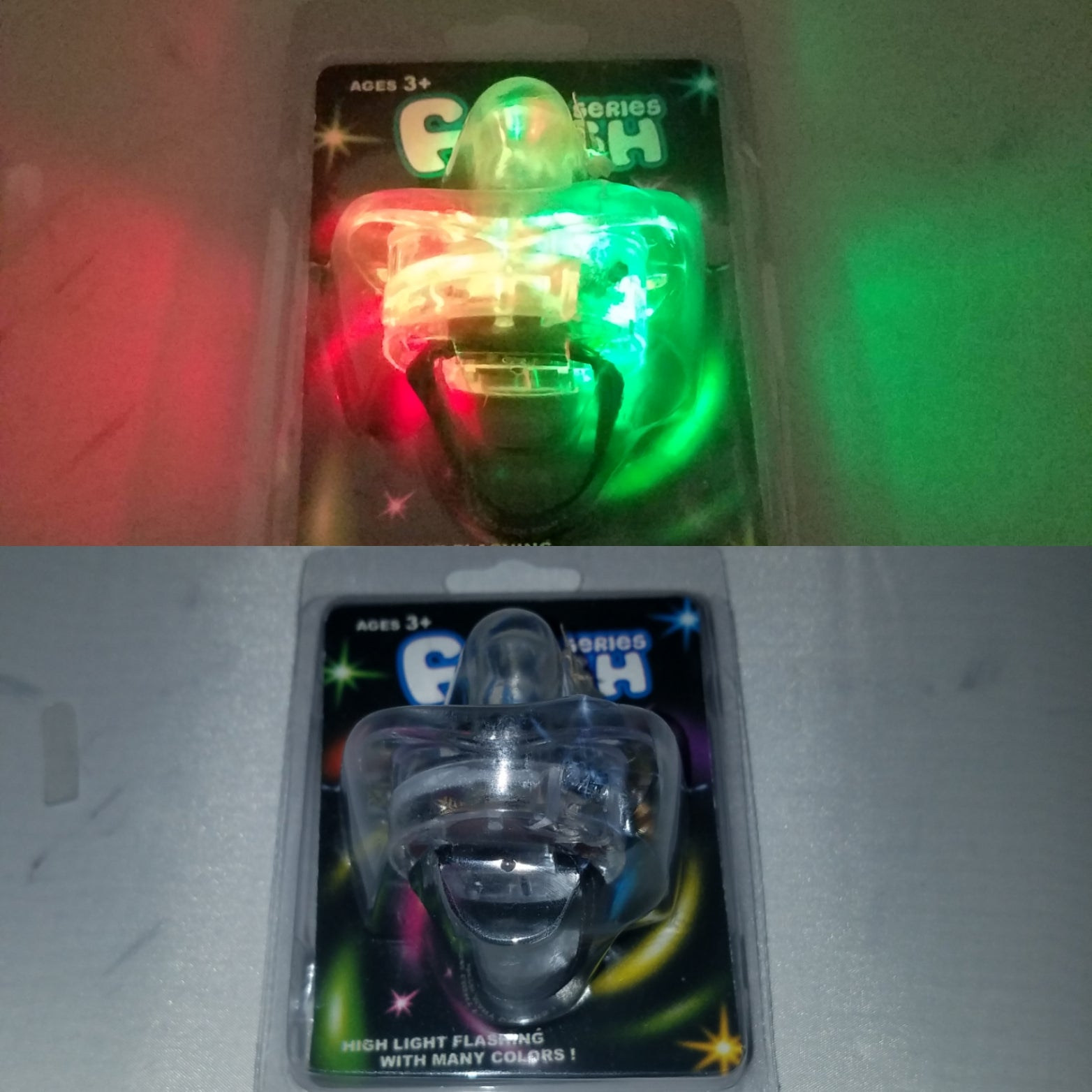 Light up pacifier