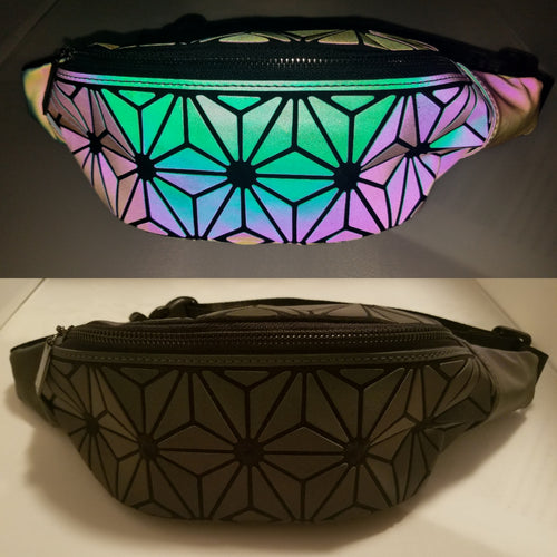 Geometric Star Pattern Fanny pack
