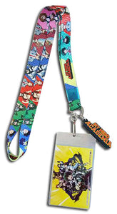 My Hero Academia Group Lanyard