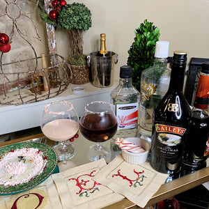 Cocktail Hour- Candy Cane Martini