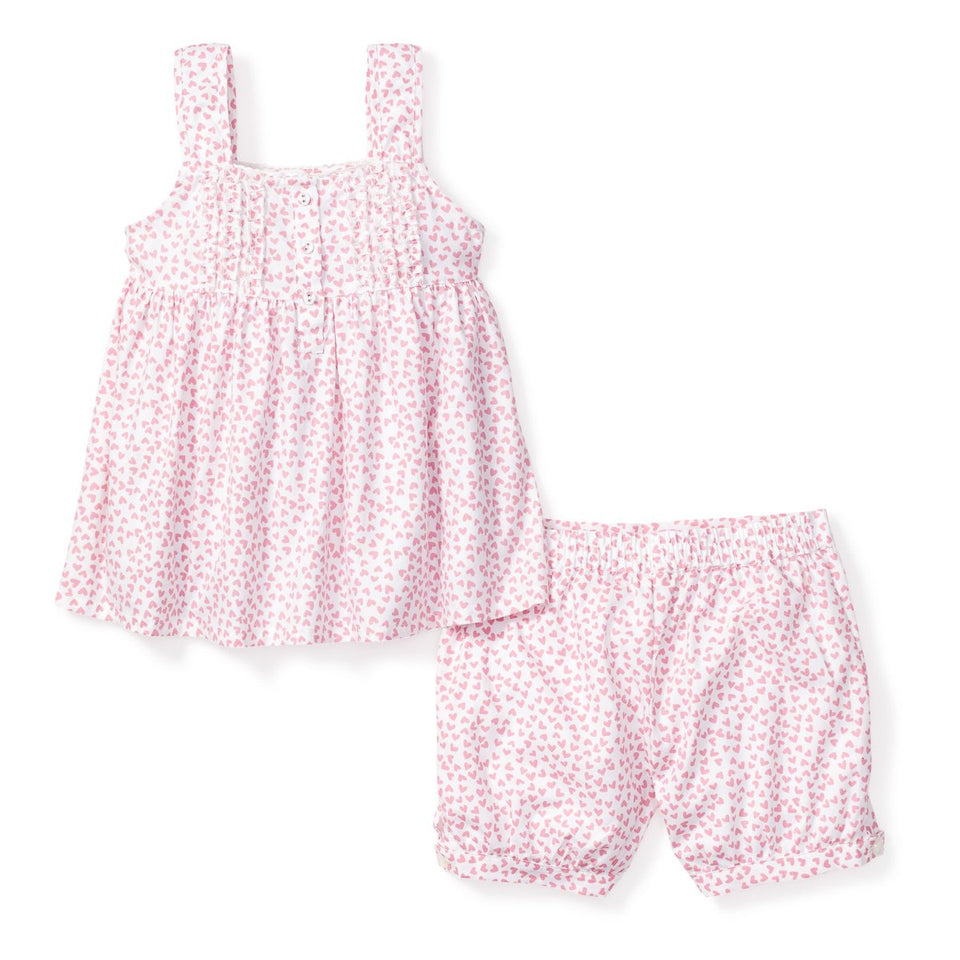 Sweethearts Charlotte Short Set- Girls