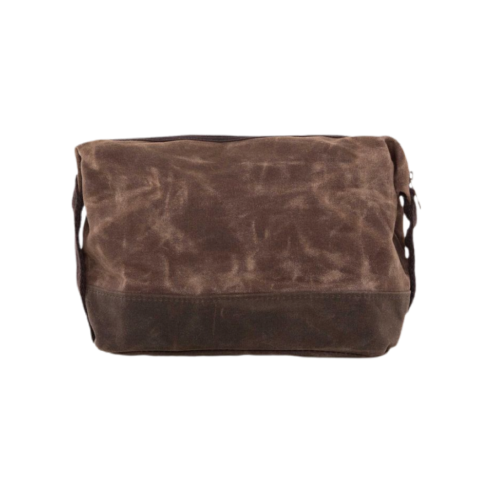 Waxed Canvas Men's Dopp Case