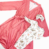 Mother/Baby Newborn Robe and Gown