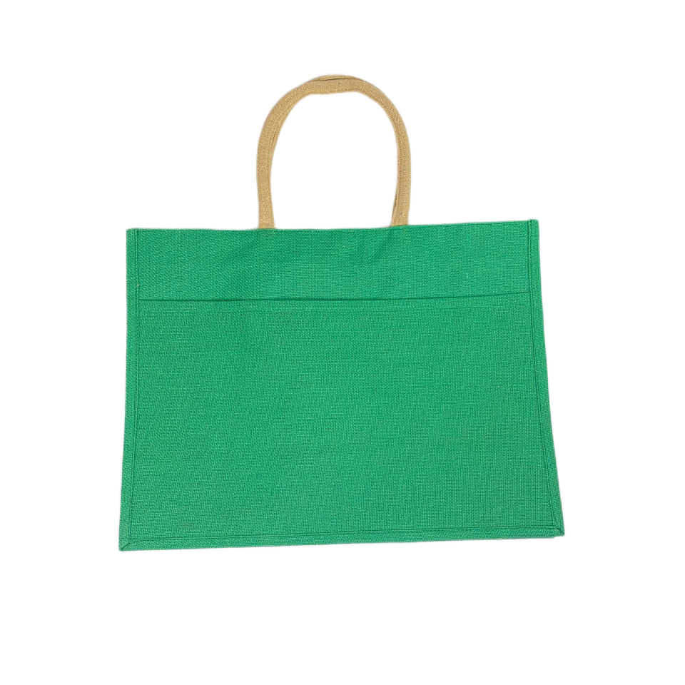 Small Jute Shopper Tote