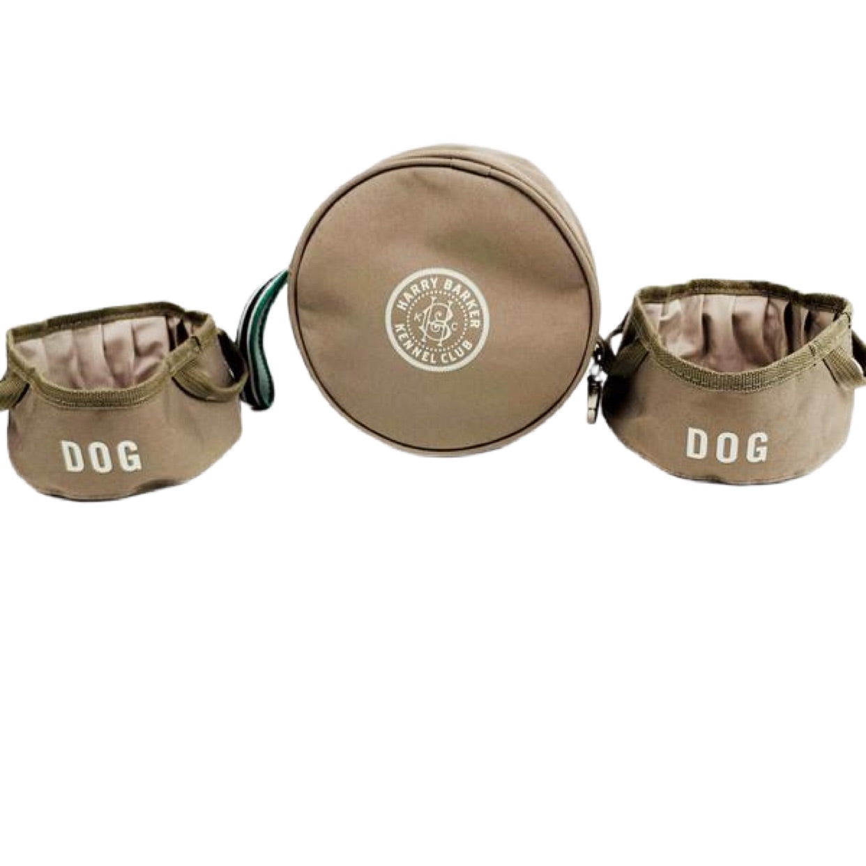Kennel Club Fold-Up Bowls & Pouch Set
