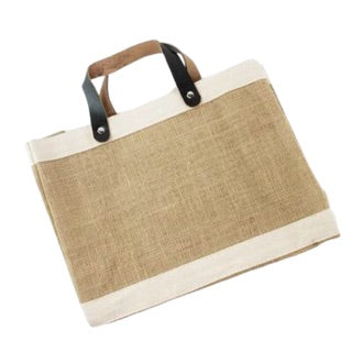 Jute Shopper Tote-Small