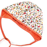 Ginger Blooms Reversible Bonnet