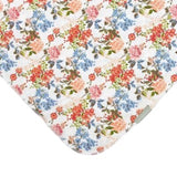 Little Girl's Stretchy Swaddle Blanket & bow