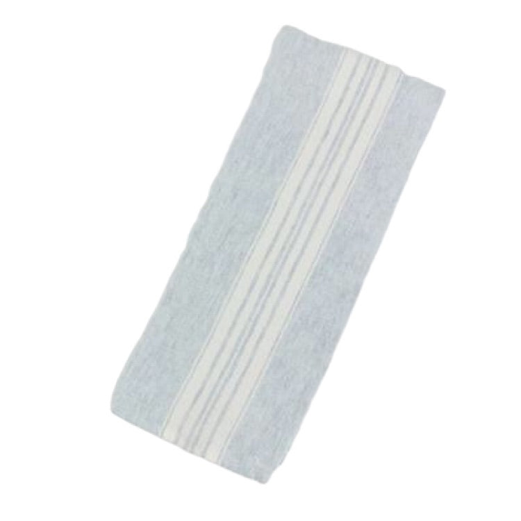 Maison Linen Tea Towel-Mineral Blue