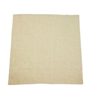 Oatmeal Linen Blend Euro Sham with Zipper