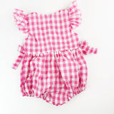Gingham Bubble Suit