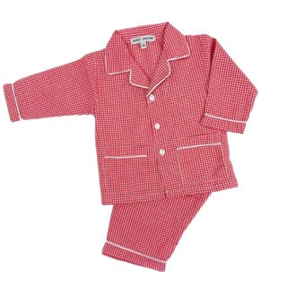 Red Gingham Boy's PJs