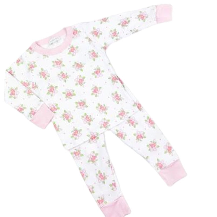 Vintage Magnolia Long Pj Set by Magnolia Baby