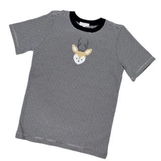 Buck Applique Short Sleeve T-Shirt