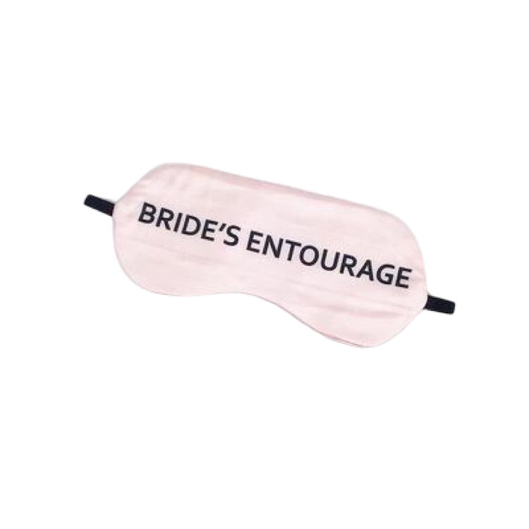 Bride's Entourage Sleep Mask by Toss Designs