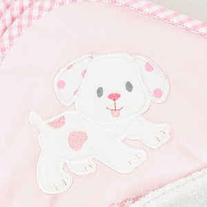 Puppy Hooded Towel With Washcloth by 3 Marthas