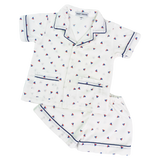 Sailboat Short PJ Set for Boys