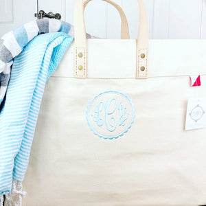 Large Heavy Canvas Tote