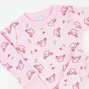 To a Tee Girls Long Pj Set By Magnolia Baby