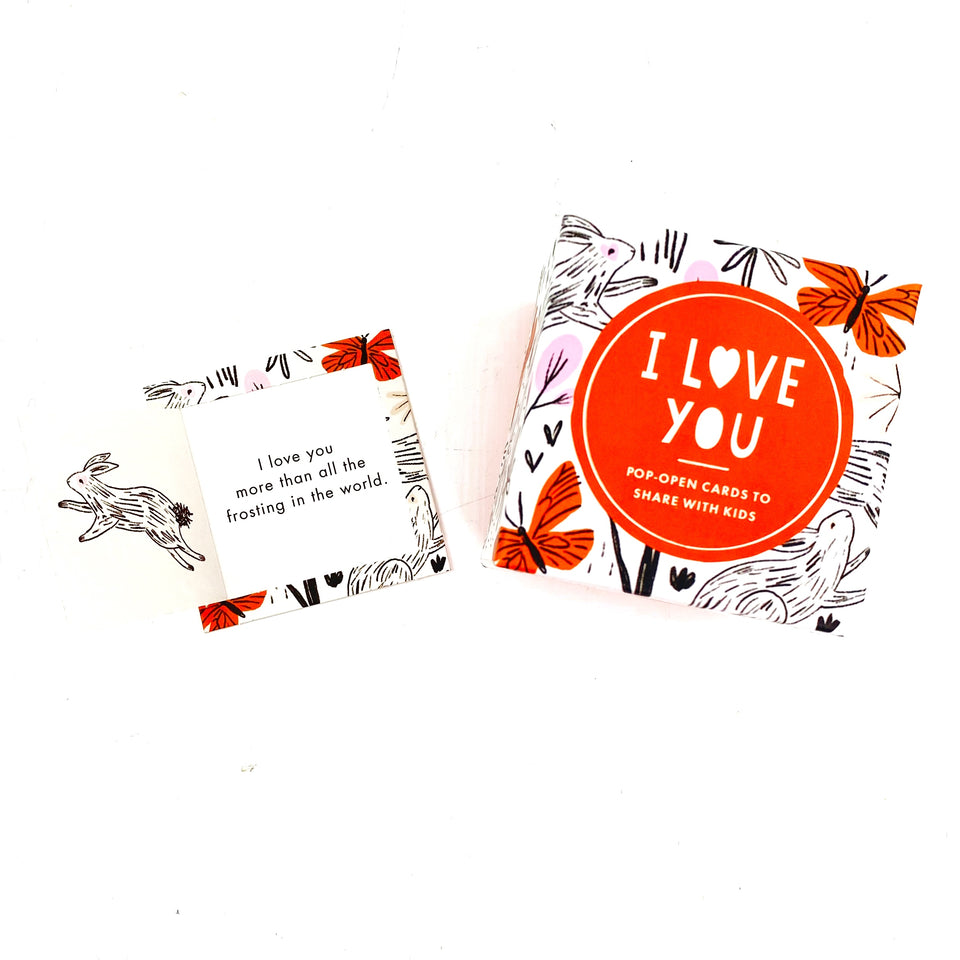 Kid ThoughtFulls Pop-Open Cards- I Love You