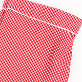 Red Gingham Adult PJ Pants