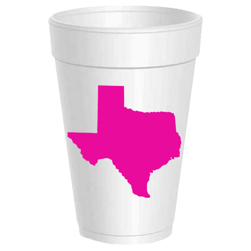 Texas Party Cups