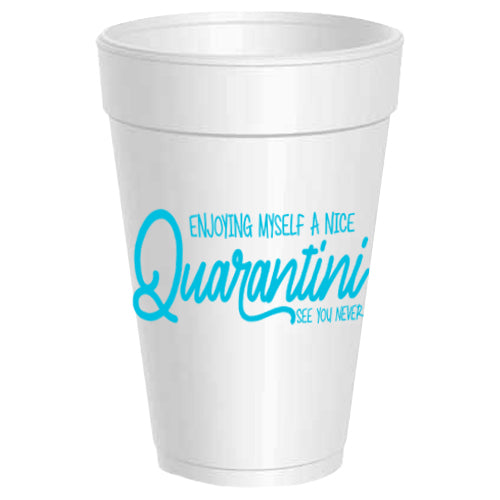 """Quarantini"" Party Cups"